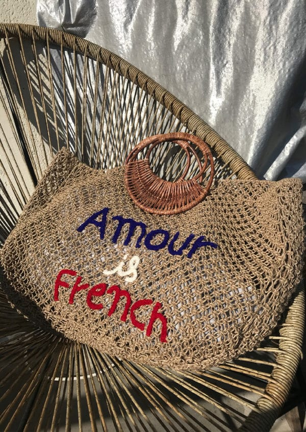 """Sac """"Amour is french"""""""